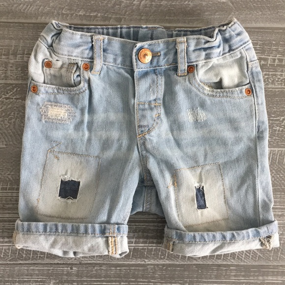 7913bd701 H&M Bottoms | Hm Baby Boy Distressed Denim Shorts | Poshmark
